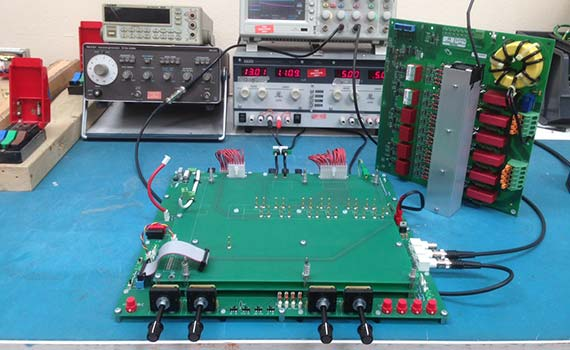 Electronics Test Jig : Power electronics smart solutions uk test